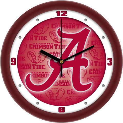 Alabama Crimson Tide - Dimension Wall Clock - SuntimeDirect