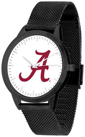 Alabama Crimson Tide - Mesh Statement Watch - Black Band - SuntimeDirect
