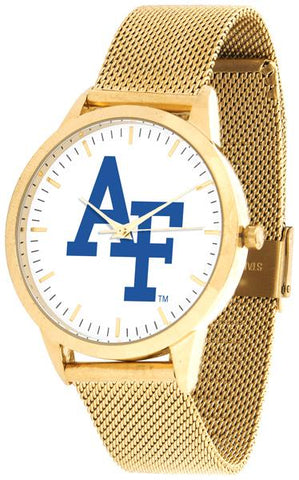 Air Force Falcons - Mesh Statement Watch - Gold Band