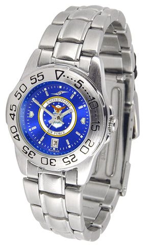 US Air Force - Ladies' Sport Steel AnoChrome