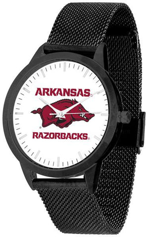 Arkansas Razonbacks - Mesh Statement Watch - Black Band - SuntimeDirect