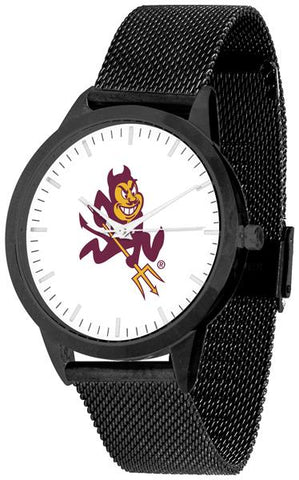 Arizona State Sun Devils - Mesh Statement Watch - Black Band - SuntimeDirect