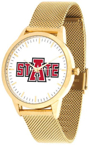 Arkansas State Red Wolves - Mesh Statement Watch - Gold Band