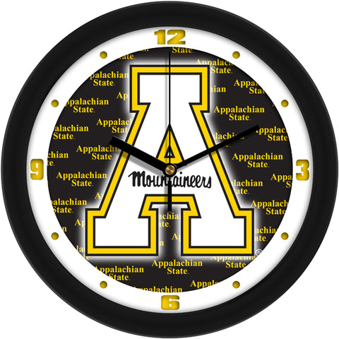 Appalachian State Mountaineers - Dimension Wall Clock - SuntimeDirect