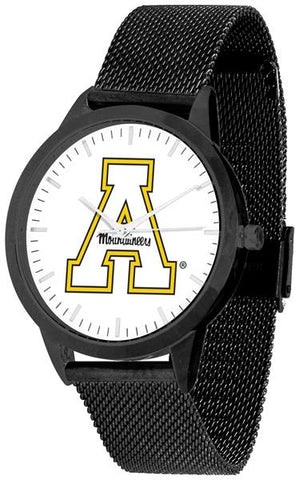 Appalachian State Mountaineers - Mesh Statement Watch - Black Band - SuntimeDirect