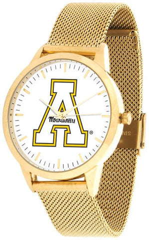 Appalachian State Mountaineers - Mesh Statement Watch - Gold Band