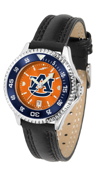 Auburn Tigers - Competitor Ladies' AnoChrome  -  Color Bezel - SuntimeDirect