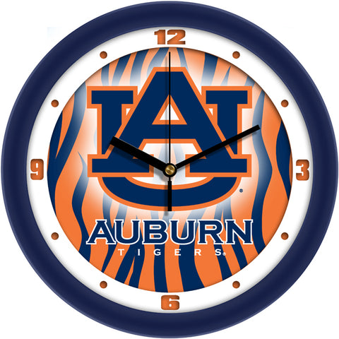 Auburn Tigers - Dimension Wall Clock - SuntimeDirect