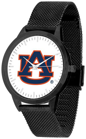 Auburn Tigers - Mesh Statement Watch - Black Band - SuntimeDirect