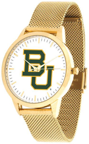 Baylor Bears - Mesh Statement Watch - Gold Band