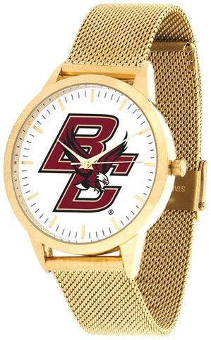 Boston College Eagles - Mesh Statement Watch - Gold Band