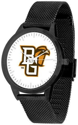 Bowling Green Falcons - Mesh Statement Watch - Black Band - SuntimeDirect