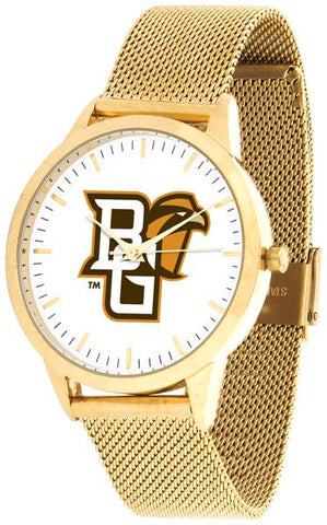 Bowling Green Falcons - Mesh Statement Watch - Gold Band