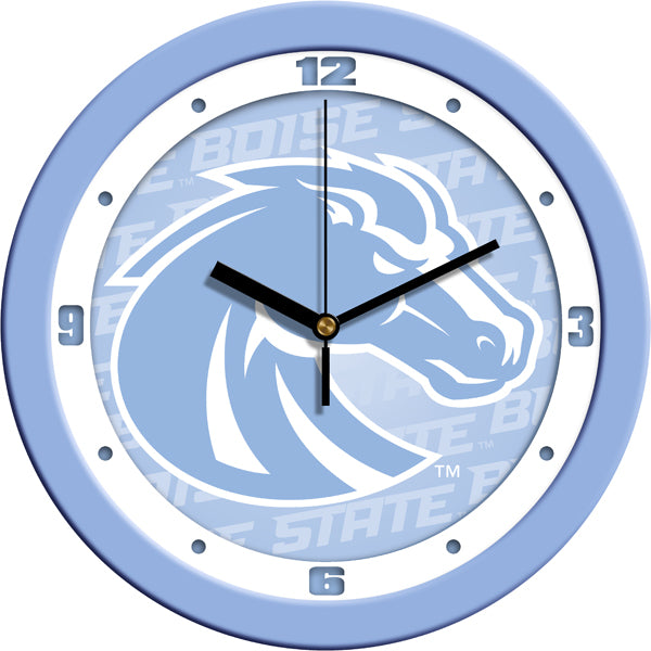 Boise State Broncos - Baby Blue Wall Clock - SuntimeDirect