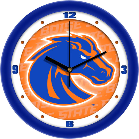 Boise State Broncos - Dimension Wall Clock - SuntimeDirect