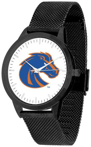 Boise State Broncos - Mesh Statement Watch - Black Band - SuntimeDirect