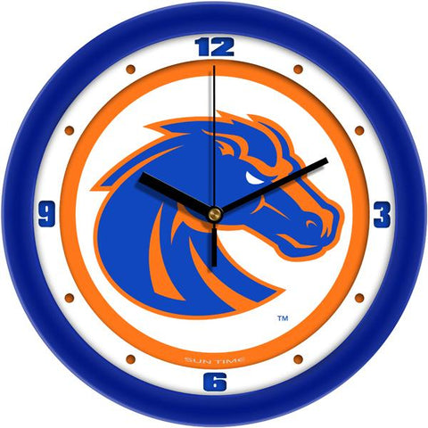 Boise State Broncos - Traditional Wall Clock - SuntimeDirect