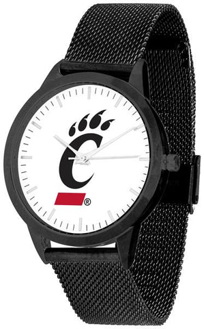 Cincinnati Bearcats - Mesh Statement Watch - Black Band - SuntimeDirect