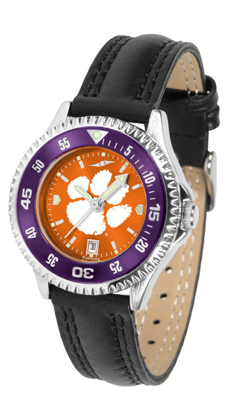 Clemson Tigers - Competitor Ladies' AnoChrome  -  Color Bezel - SuntimeDirect
