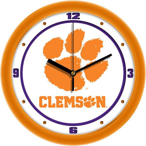 Clemson Tigers - Traditional Wall Clock - SuntimeDirect