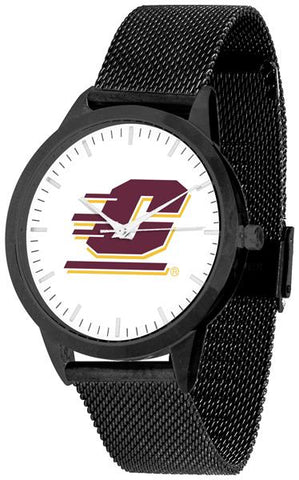 Central Michigan Chippewas - Mesh Statement Watch - Black Band - SuntimeDirect