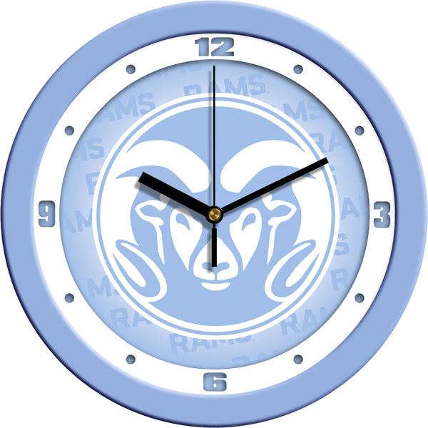 Colorado State Rams - Baby Blue Wall Clock - SuntimeDirect