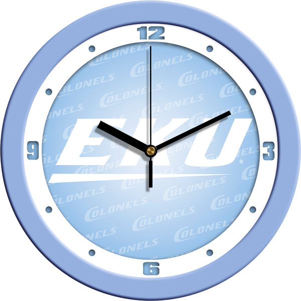 Eastern Kentucky Colonels - Baby Blue Wall Clock