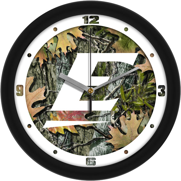Eastern Kentucky Colonels - Camo Wall Clock