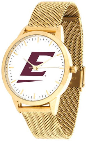 Eastern Kentucky Colonels - Mesh Statement Watch - Gold Band