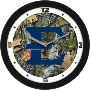 East Tennessee State Buccaneers - Camo Wall Clock