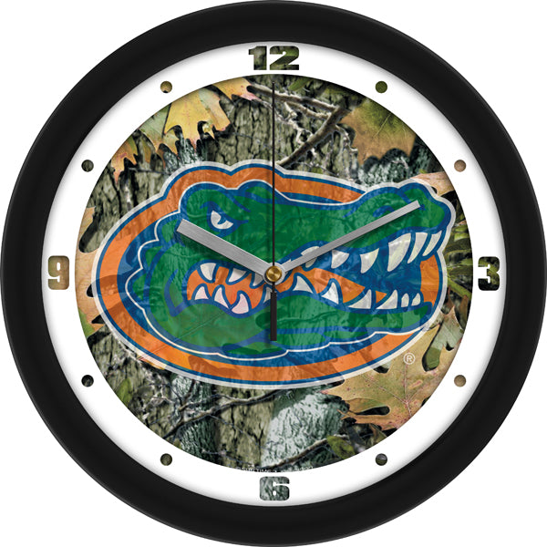 Florida Gators - Camo Wall Clock