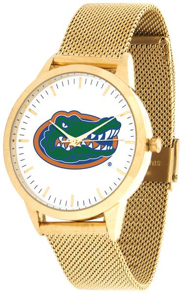 Florida Gators - Mesh Statement Watch - Gold Band