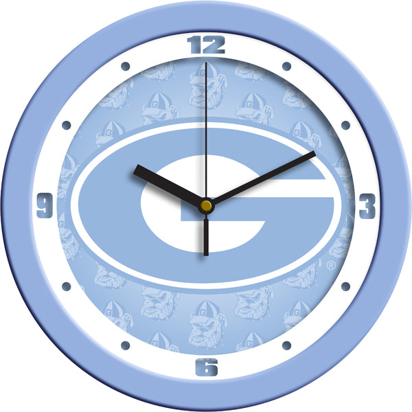 Georgia Bulldogs - Baby Blue Wall Clock