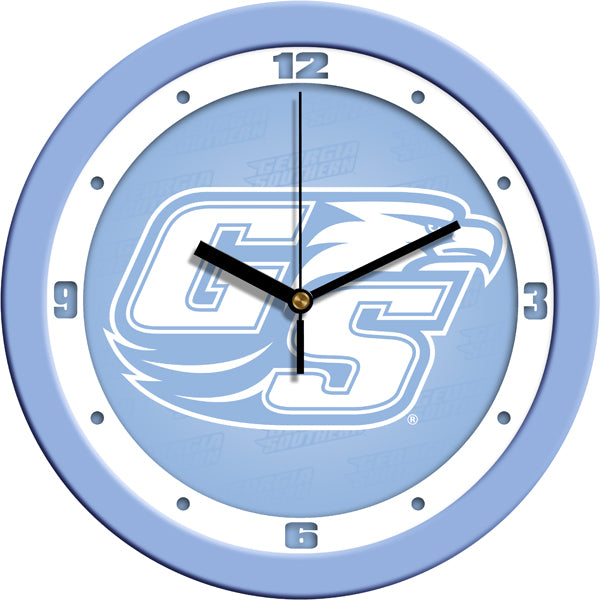 Georgia Southern Eagles - Baby Blue Wall Clock