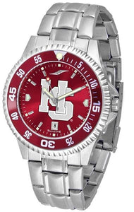 Hampden Sydney College - Competitor Steel AnoChrome  -  Color Bezel - SuntimeDirect
