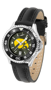 Iowa Hawkeyes - Competitor Ladies' AnoChrome  -  Color Bezel - SuntimeDirect