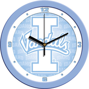 Idaho Vandals - Baby Blue Wall Clock - SuntimeDirect
