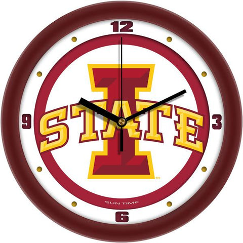 Iowa State Cyclones - Traditional Wall Clock - SuntimeDirect