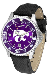 Kansas State Wildcats - Competitor AnoChrome  -  Color Bezel - SuntimeDirect
