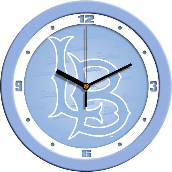 Long Beach State 49ers - Baby Blue Wall Clock