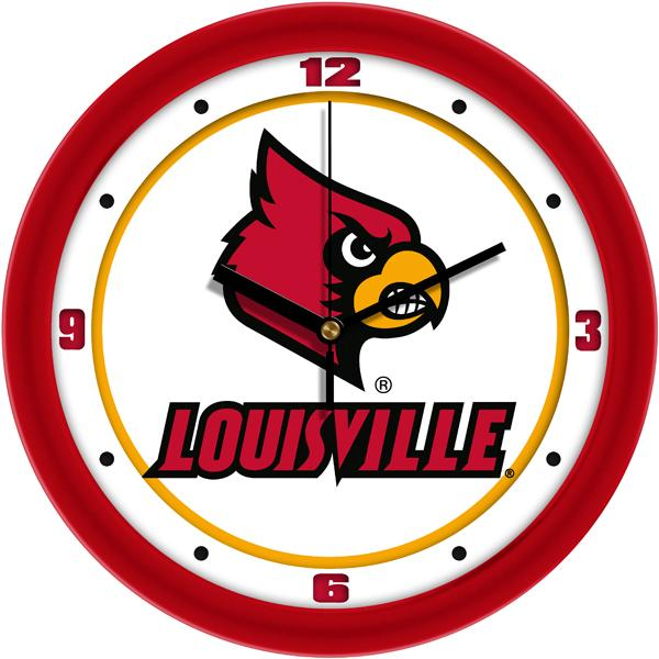 Louisville Cardinals - Traditional Wall Clock - SuntimeDirect