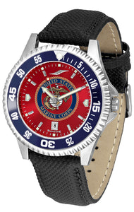 US Marines - Competitor AnoChrome  -  Color Bezel - SuntimeDirect
