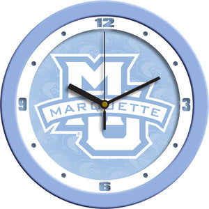 Marquette Golden Eagles - Baby Blue Wall Clock - SuntimeDirect