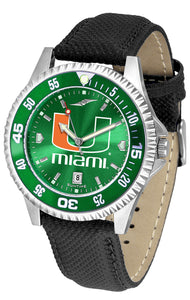 Miami Hurricanes - Competitor AnoChrome  -  Color Bezel - SuntimeDirect