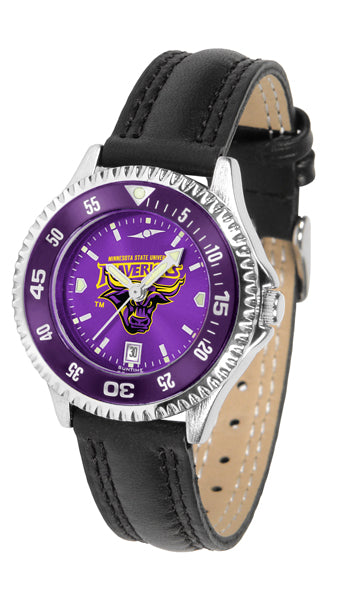 Minnesota State Mankato Mavericks - Competitor Ladies' AnoChrome  -  Color Bezel - SuntimeDirect