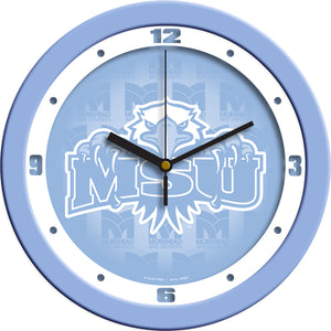 Morehead State University Eagles - Baby Blue Wall Clock