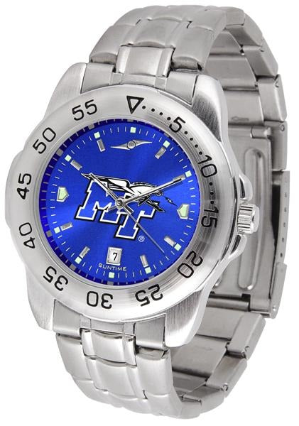 Middle Tenn. State Blue Raiders - Sport Steel AnoChrome - SuntimeDirect