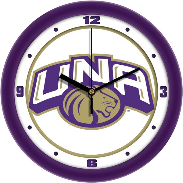 North Alabama Lions - Traditional Wall Clock - SuntimeDirect