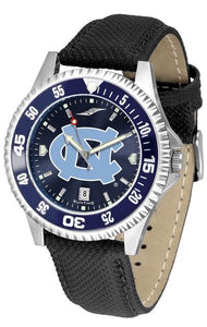 North Carolina Tar Heels - Competitor AnoChrome  -  Color Bezel - SuntimeDirect