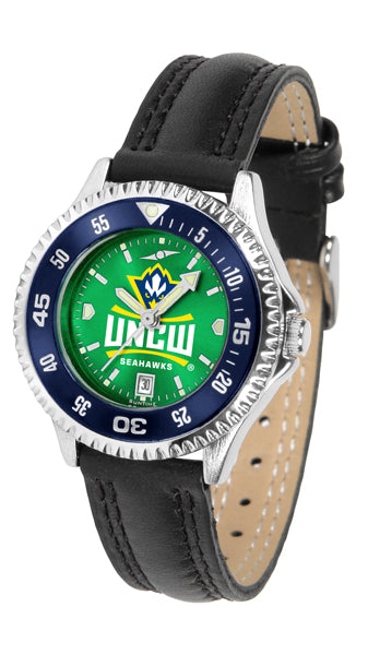 North Carolina Wilmington Seahawks - Competitor Ladies' AnoChrome  -  Color Bezel - SuntimeDirect